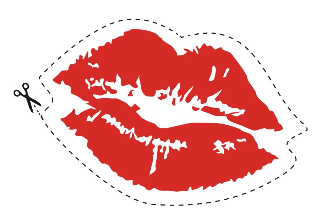 Lips on a stick